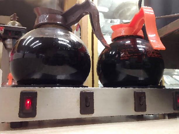 Diner coffee pots
