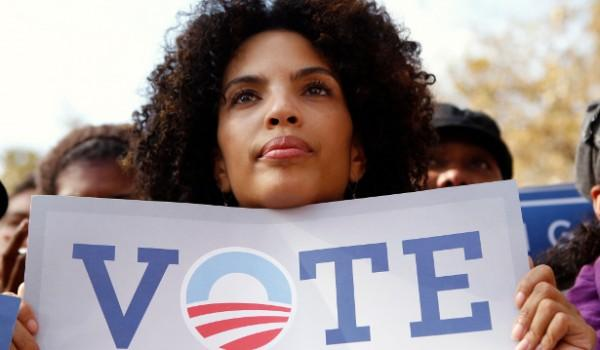 black-female-voter